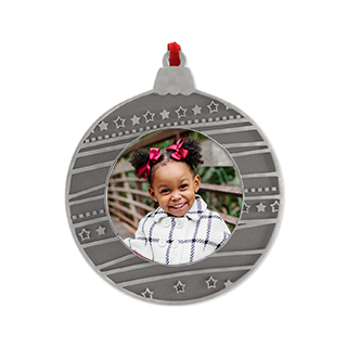 metal circle ornament