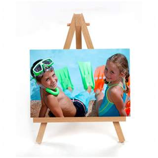 Canvas with Easel