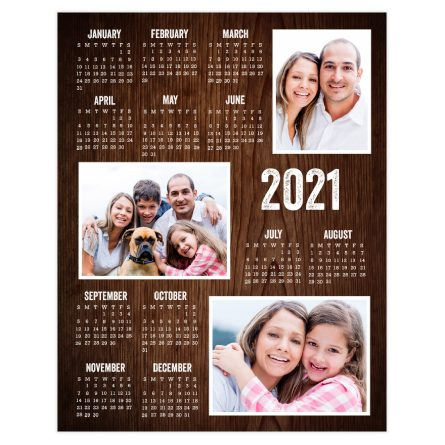 personalized calendar posters