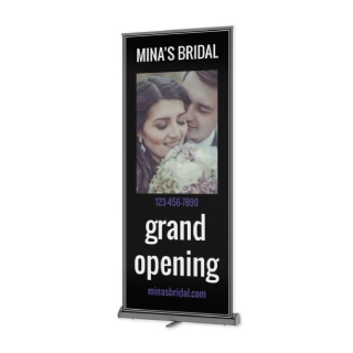 Retractable Vinyl Banners