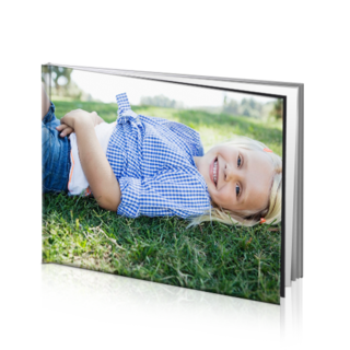 5x7 hard cover photo book