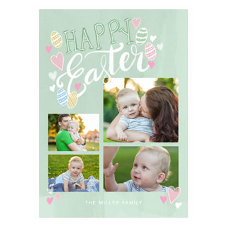 photo easter cards, custom easter cards, personalized easter cards, easter party invitations