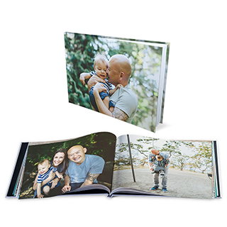 8x1 Hard Cover Photo Book