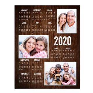 11x14 Calendar Collage