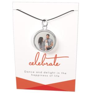 Thumbnail for Corded Necklace with Card and Gift Box - Celebrate Icon 1