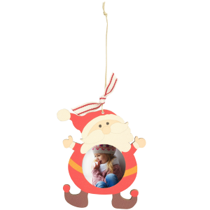 Thumbnail for 1000x1000 - Wooden Ply Photo Ornament - Santa.png 1