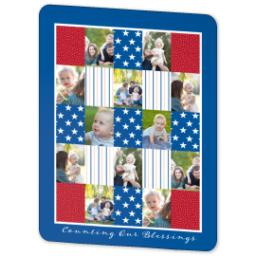 Thumbnail for 60x80 Sherpa Fleece Photo Blanket with Americana design 2