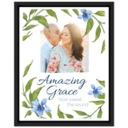 Thumbnail for 11x14 Photo Canvas With Floating Frame with Amazing Grace design 1