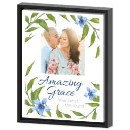 Thumbnail for 11x14 Photo Canvas With Floating Frame with Amazing Grace design 2