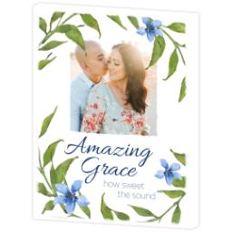 Thumbnail for 11x14 Photo Canvas with Amazing Grace design 3