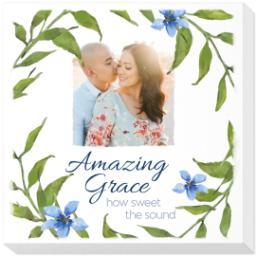 Thumbnail for 12x12 Photo Canvas with Amazing Grace design 1