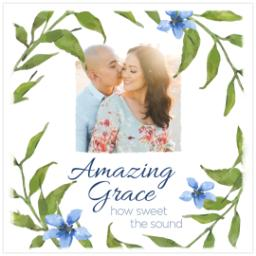 Thumbnail for 12x12 Photo Canvas with Amazing Grace design 2
