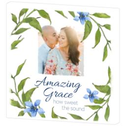 Thumbnail for 12x12 Photo Canvas with Amazing Grace design 3
