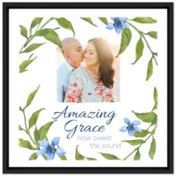 Thumbnail for 16x16 Photo Canvas With Floating Frame with Amazing Grace design 1