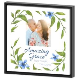 Thumbnail for 16x16 Photo Canvas With Floating Frame with Amazing Grace design 2