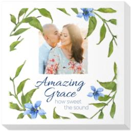 Thumbnail for 16x16 Photo Canvas with Amazing Grace design 1