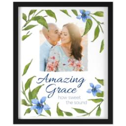 Thumbnail for 16x20 Photo Canvas With Contemporary Frame with Amazing Grace design 1