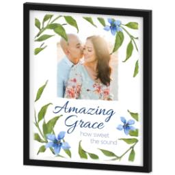 Thumbnail for 16x20 Photo Canvas With Contemporary Frame with Amazing Grace design 2