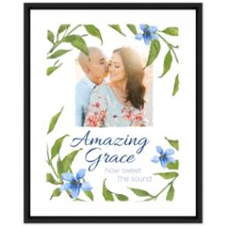 Thumbnail for 16x20 Photo Canvas With Floating Frame with Amazing Grace design 1