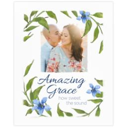 Thumbnail for 16x20 Photo Canvas with Amazing Grace design 2