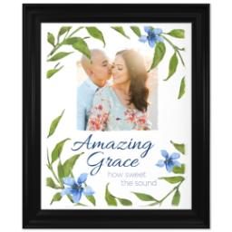 Thumbnail for 16x20 Photo Canvas With Traditional Frame with Amazing Grace design 1