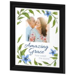 Thumbnail for 16x20 Photo Canvas With Traditional Frame with Amazing Grace design 2