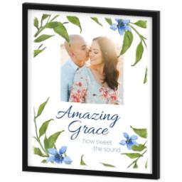 Thumbnail for 20x24 Photo Canvas With Contemporary Frame with Amazing Grace design 2