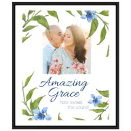 Thumbnail for 20x24 Photo Canvas With Floating Frame with Amazing Grace design 1