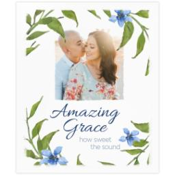 Thumbnail for 20x24 Photo Canvas with Amazing Grace design 2
