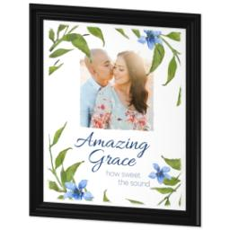 Thumbnail for 20x24 Photo Canvas With Traditional Frame with Amazing Grace design 2