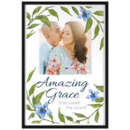 Thumbnail for 24x36 Photo Canvas With Contemporary Frame with Amazing Grace design 1