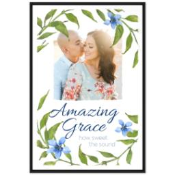 Thumbnail for 24x36 Photo Canvas With Floating Frame with Amazing Grace design 1