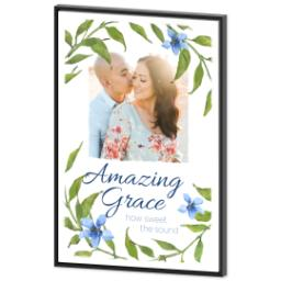 Thumbnail for 24x36 Photo Canvas With Floating Frame with Amazing Grace design 2