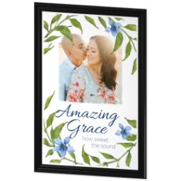 Thumbnail for 24x36 Photo Canvas With Traditional Frame with Amazing Grace design 2