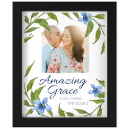 Thumbnail for 8x10 Photo Canvas With Contemporary Frame with Amazing Grace design 1