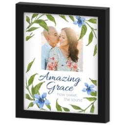 Thumbnail for 8x10 Photo Canvas With Contemporary Frame with Amazing Grace design 2