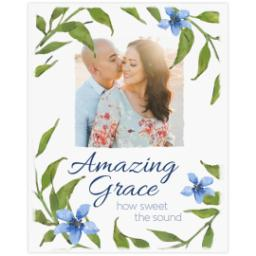 Thumbnail for 8x10 Photo Canvas with Amazing Grace design 2