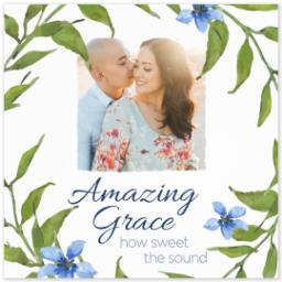 Thumbnail for 8x8 Photo Canvas with Amazing Grace design 2