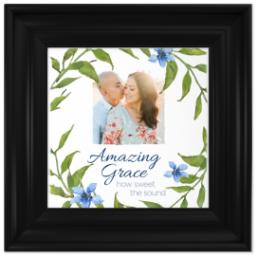 Thumbnail for 8x8 Photo Canvas With Traditional Frame with Amazing Grace design 1