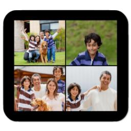 Thumbnail for Ultra Thin Collage Photo Mousepad Rectangle with Custom Color Collage design 1