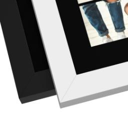 Thumbnail for 11x14 Collage Canvas With Contemporary Frame with Custom Color Collage design 5