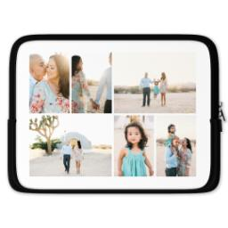 Thumbnail for Photo Collage Laptop Case with Custom Color Collage design 1