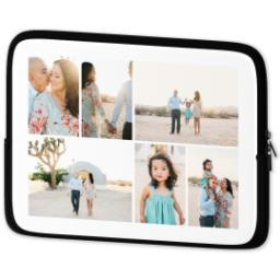 Thumbnail for Photo Collage Laptop Case with Custom Color Collage design 2