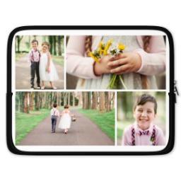 "Thumbnail for Photo Collage Laptop Case 15"" with Custom Color Collage design 1"