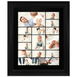 Thumbnail for 16x20 Collage Canvas With Traditional Frame with Custom Color Collage design 1