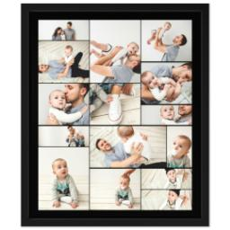 Thumbnail for 20x24 Collage Canvas With Contemporary Frame with Custom Color Collage design 1