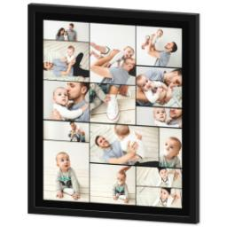 Thumbnail for 20x24 Collage Canvas With Contemporary Frame with Custom Color Collage design 2