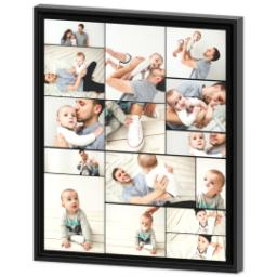 Thumbnail for 20x24 Collage Canvas With Floating Frame with Custom Color Collage design 2