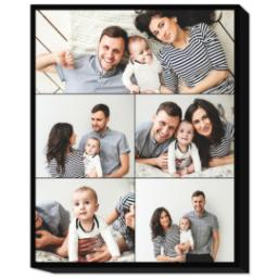 Thumbnail for 20x24 Collage Photo Canvas with Custom Color Collage design 1