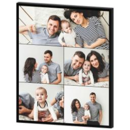 Thumbnail for 20x24 Collage Photo Canvas with Custom Color Collage design 3